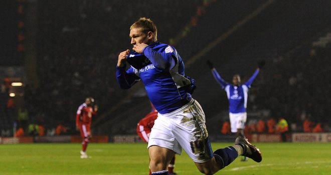 Waghorn: The Leicester striker has been told by Eriksson that he is free to find another club