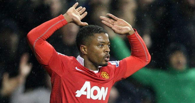 Evra: Believes he won the ball from Ramires