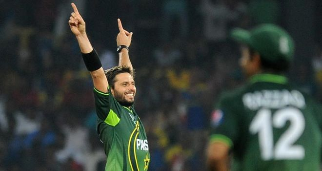 Costly: Afridi has been fined 20 percent of his match fee