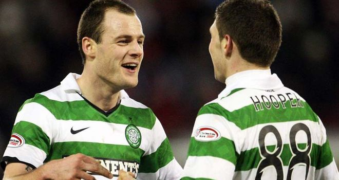 Anthony Stokes: Wants to keep his partnership with Gary Hooper at Celtic