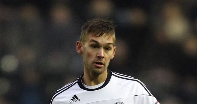 James Bailey: Returns to Pride Park following loan spell at Coventry