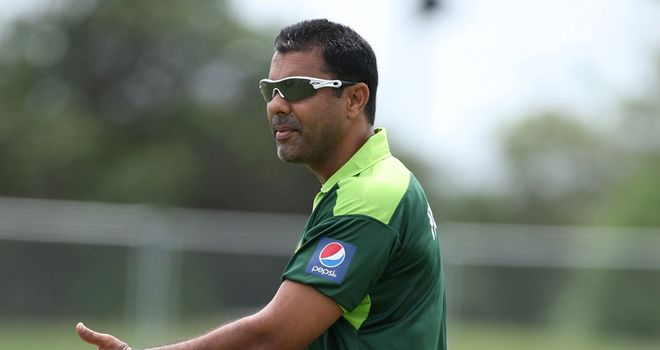 Waqar: Keen to end tour on a high