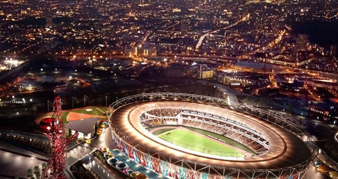 West Ham plan to move into the Olympic Stadium from Upton Park in 2014-15