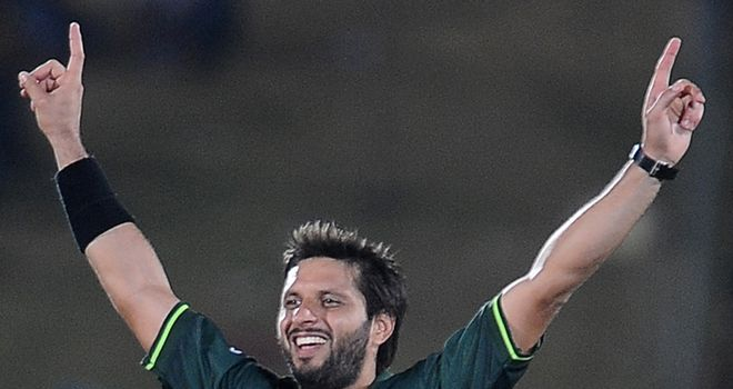 Afridi: maiden World Cup five-wicket haul