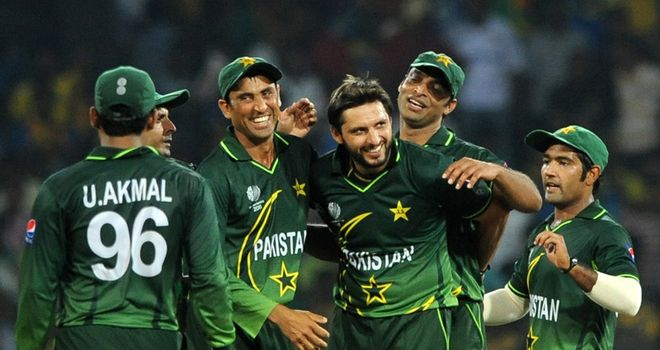 Good times: Pakistan are on a World Cup roll