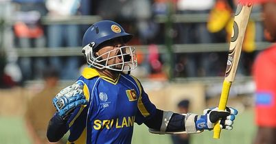 Dilshan: followed up 144 with four wickets