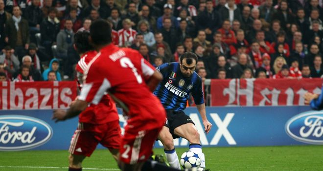 Pandev: Scores the winner