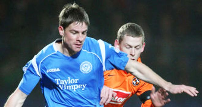 Jamie Adams: St Johnstone midfielder ready to return against Dundee United