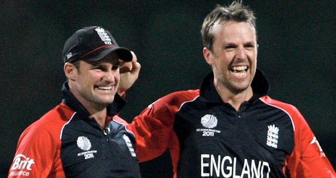 Graeme Swann and Andrew Strauss: Good mates