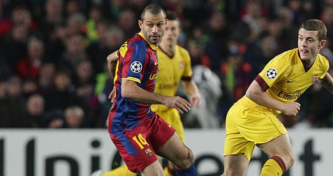 Mascherano: Blast at Arsenal
