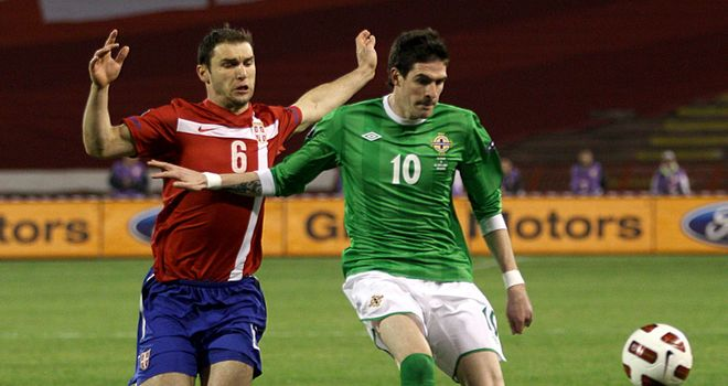 Lafferty: Back in the squad after recovering from a hernia operation