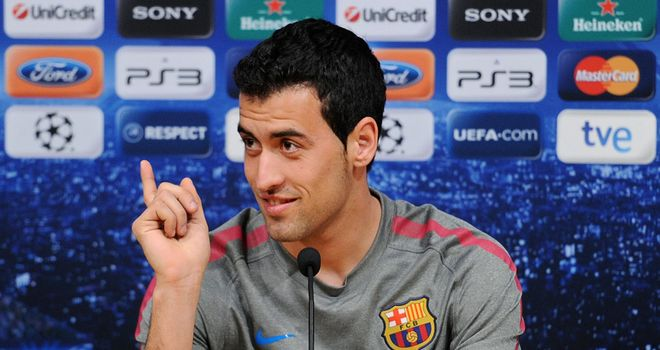 Busquets: Free to face Man Utd in final