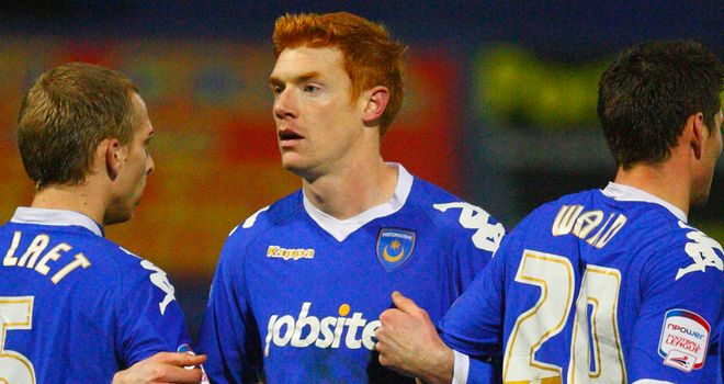 Kitson: In contention to make his Portsmouth comeback against Barnsley later this month
