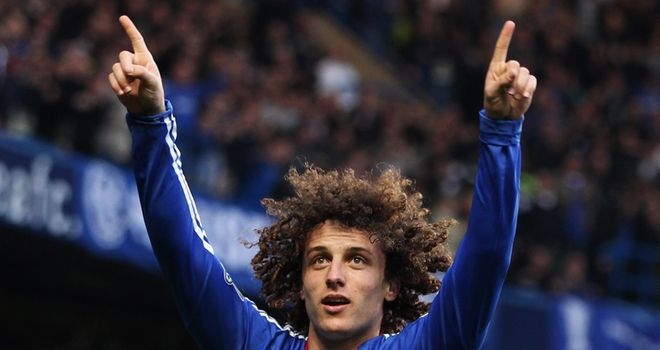 The impressive Luiz broke the deadlock