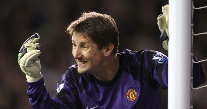 Van der Sar: Will make his 13th appearance in the European Cup semi-finals