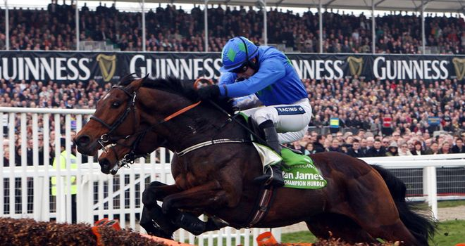 Hurricane Fly: Ready to return at Leopardstown after pleasing in racecourse gallop