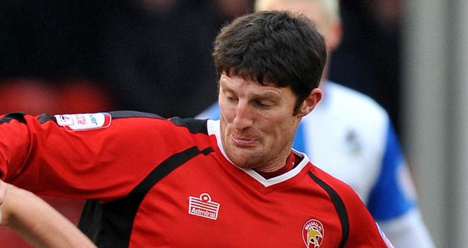 Macken: Stunning opener for Walsall