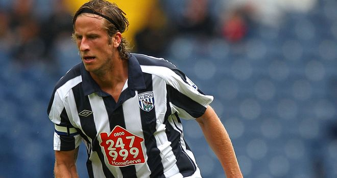 Olsson: Believes the Baggies are a stronger outfit than last year