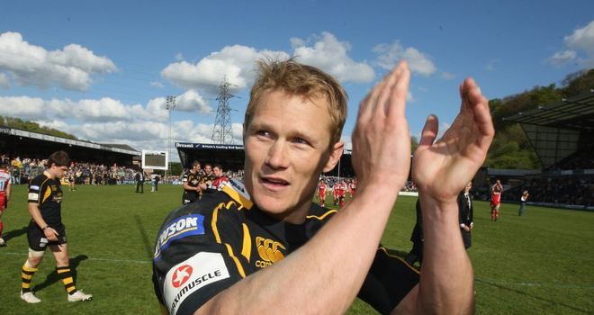 Josh Lewsey: Thinks Johnson should be given some more time
