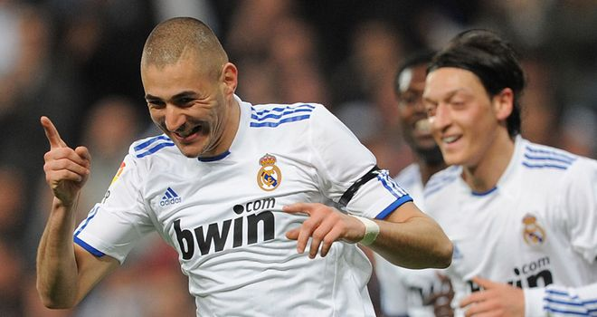 Benzema: Linked with a move away from Real but says he wants to stay for many years