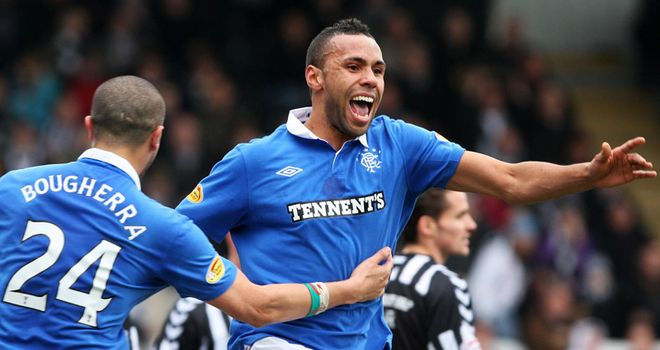 Bartley: Played a part in Rangers' successful SPL title bid