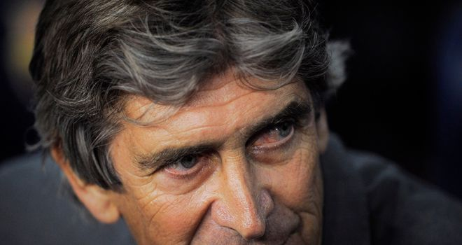 Pellegrini: Enjoying his spell at Malaga and wants a succesful future at the club