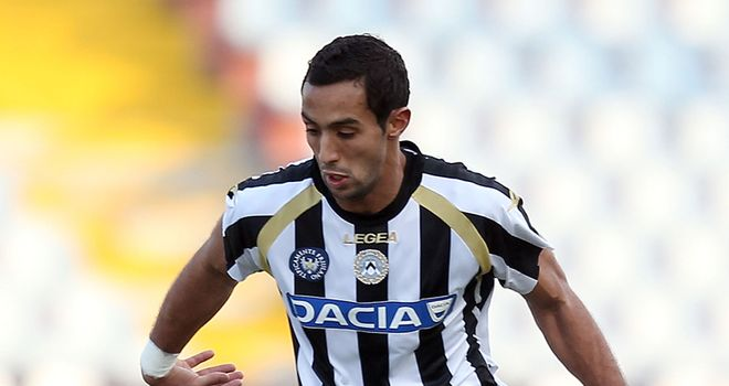 Mehdi Benatia: Opened the scoring for Udinese in the 88th minute