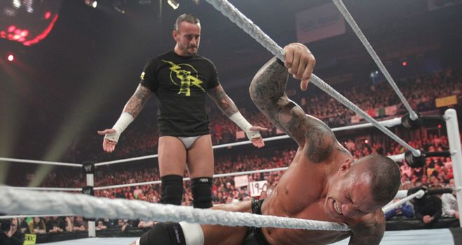 CM Punk was left seething in London