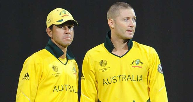 Ponting: pleased with Hussey's return