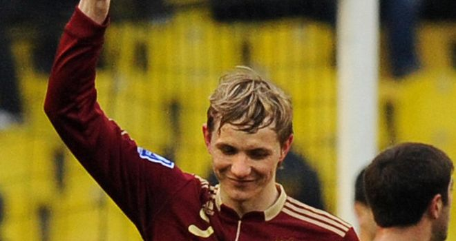 Pavlyuchenko: Scored hat-trick as Russia came from behind to beat Armenia