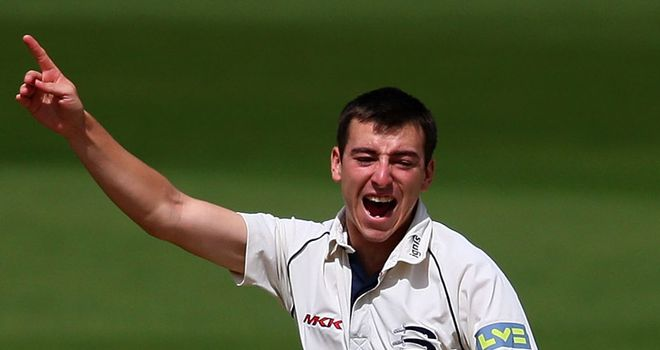Toby Roland-Jones: Handed new deal at Middlesex