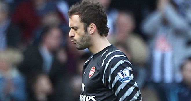 Manuel Almunia: Has revealed the frustrations and disappointments of life at Arsenal