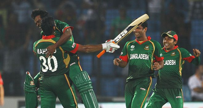 Bangladesh celebrate a dramatic victory in Chittagong