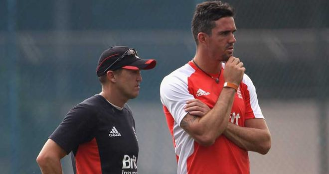 KP and Flower: Working hard to get back into the runs