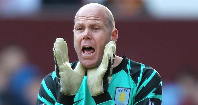 Friedel: Villa goalkeeper being linked with a move to White Hart Lane in the summer