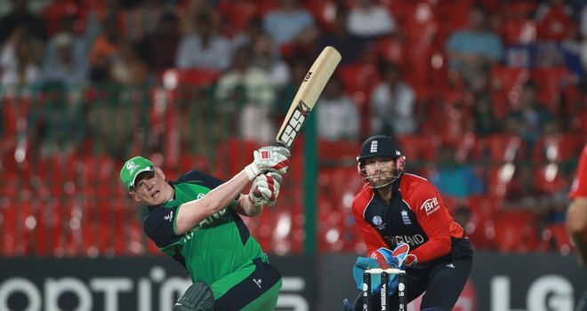 O'Brien: fastest World Cup hundred
