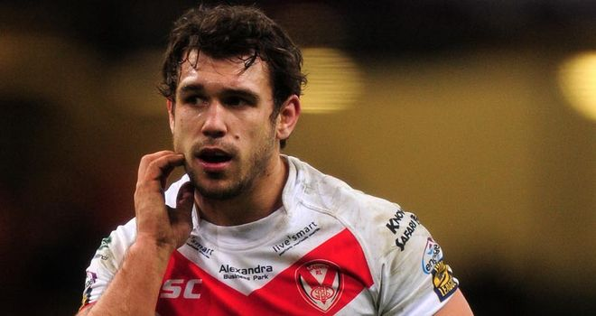 Scott Moore: Has left St Helens to join Widnes