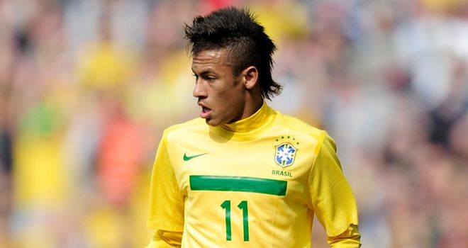Neymar: Expected to be the subject of big-money bids this summer
