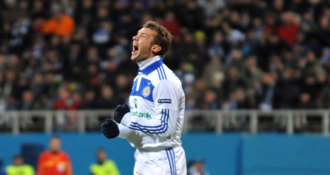 Shevchenko: Set for an emotional exit from the game in front of his home supporters
