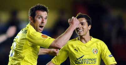Carlos Marchena: The Villarreal defender, left, expects tough test at City