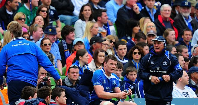 Brian O'Driscoll: Worry for Heineken Cup final after injury against Ulster