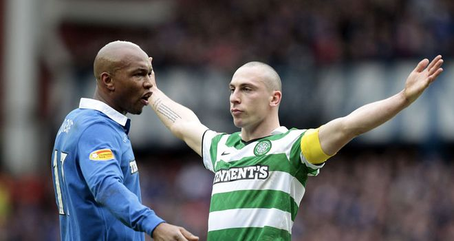 Brown: Enjoys Diouf 'banter'