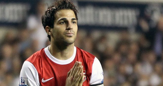 Fabregas: Has been a target of Barcelona for several seasons