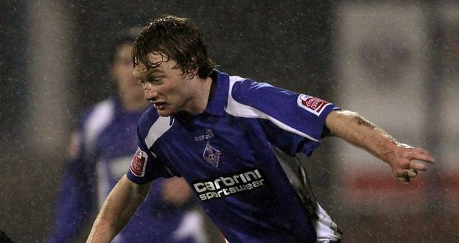Chris Taylor: Oldham winger is keen to test his skills in the Championship
