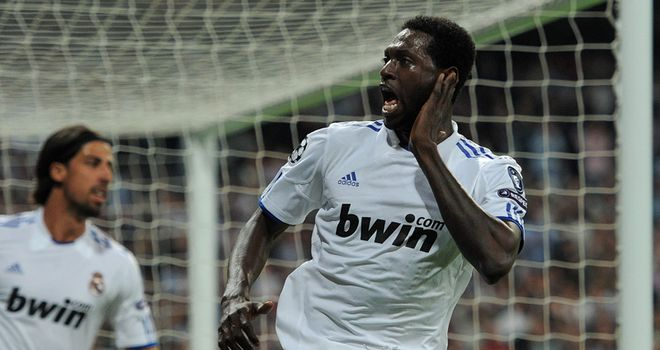 Adebayor: Wanted by Spurs and Assou-Ekotto has backed the striker to be a hit at White Hart Lane