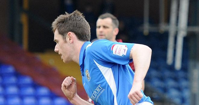 Tansey: Equalised for Stockport