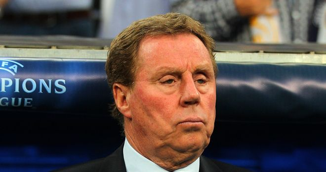 Redknapp: Linked with England but loving life at Spurs