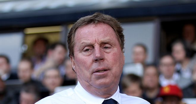 Redknapp: Refusing to be downbeat