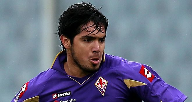 Vargas: Wants to repay support shown by Fiorentina owners