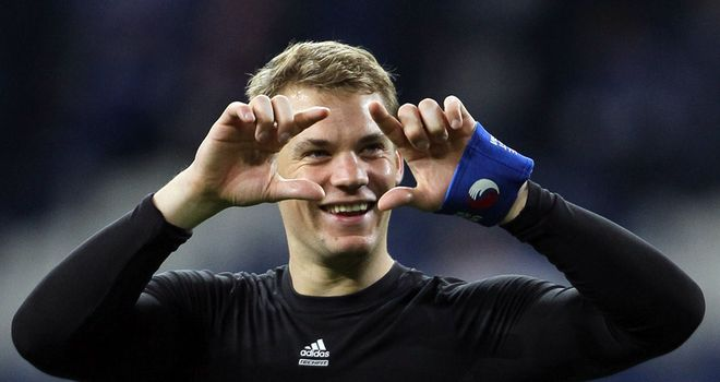 Neuer: Wanted by Bundesliga giants Bayern this summer
